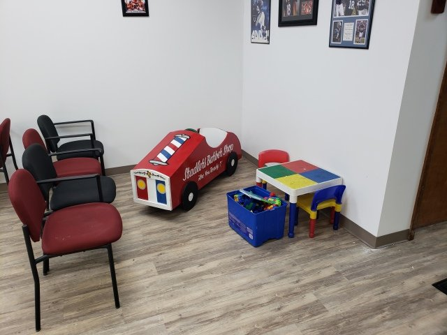 Kid friendly waiting area